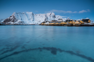Sakrisøy & Reinebringen // Lofoten islands, Norway - Fineart photography by Eva Stadler