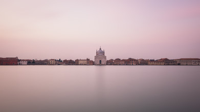 Dennis Wehrmann, Panorama sunrise Zitelle | Venice | Italy, Panorama Sonnenaufgang Zitelle | Venedig | Italien (Italien, Europa)