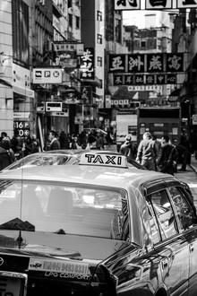 Sebastian Rost, Taxi in Hong Kong (Hong Kong, Asien)
