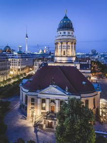 Französischer Dom Berlin - fotokunst von Ronny Behnert