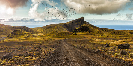 Markus Schieder, Panorama of the Highlands of Saefellsnes - Iceland (Island, Europa)