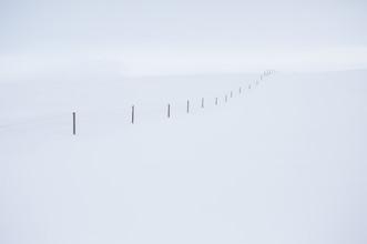 Jens Rosbach, Schneezaun, Island (Island, Europa)