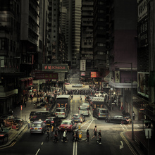 Crossing Hong Kong - Fineart photography by Rob van Kessel