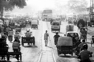Old Delhi III - fotokunst von Rob van Kessel