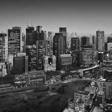 Umeda Skyline Osaka Japan - Fineart photography by Ronny Behnert