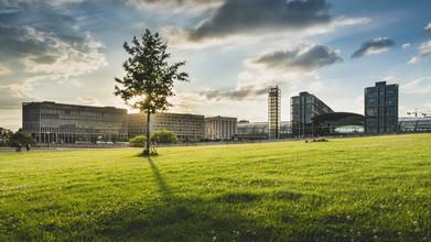 Ronny Behnert, Hauptbahnhof Berlin Sonnenuntergang (Deutschland, Europa)