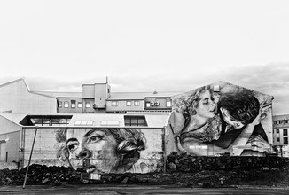 Victoria Knobloch, In Reykjavik (Iceland, Europe)