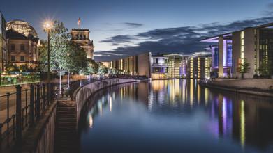 Reichstagsufer Berlin - fotokunst von Ronny Behnert
