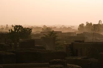 Mathias Becker, Über den Dächern von Djenné (Mali, Afrika)