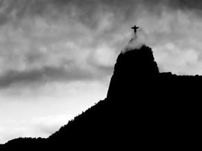 Cristo Redentor - fotokunst von Klaus Lenzen