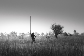 Tillmann Konrad, Fishing in the Okavango (Botswana, Africa)