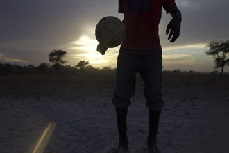 Djibril Drame, Feet in the Sand (Senegal, Africa)