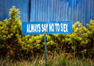 Victoria Knobloch, Always say no to sex (Uganda, Africa)