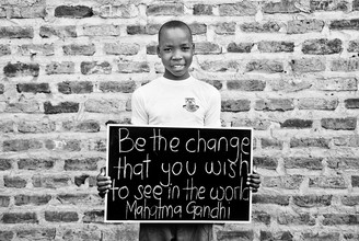 Victoria Knobloch, Be the change you want to see in the world (Uganda, Africa)