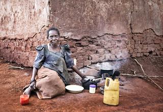 Victoria Knobloch, Old woman in Uganda (Uganda, Africa)