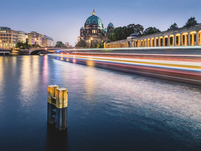 Light Traffic Berlin - Fineart photography by Ronny Behnert