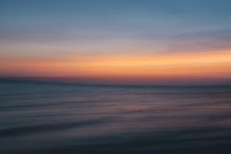 Nadja Jacke, Sonnenuntergang am Mittelmeer - abstrakt (Spanien, Europa)