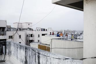 Enok Holsegaard, Kids on roof (India, Asia)