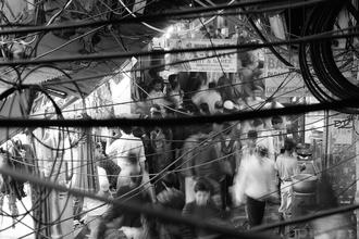 Market frenzy - Fineart photography by Jagdev Singh
