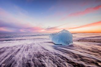 Markus Van Hauten, Eisblock auf Island (Island, Europa)