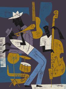 Jazz - fotokunst von Jean-Manuel Duvivier