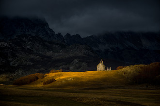 Mountain Church - Fineart photography by Dejan Dajkovic