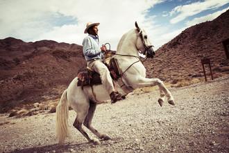 Florian Büttner, cowboy (Vereinigte Staaten, Nordamerika)