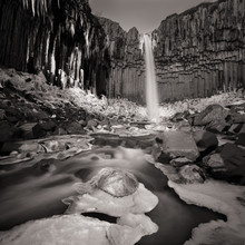 Dennis Wehrmann, Langzeitbelichtung Svartifoss Island (Island, Europa)