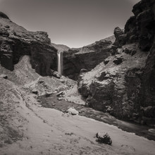 Dennis Wehrmann, Waterfall Solheimajoekull (Iceland, Europe)