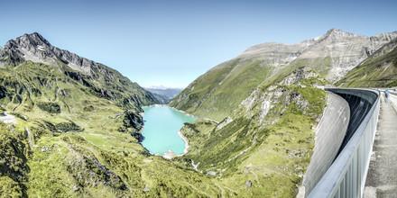 Norbert Gräf, Water reservoir at Kaprun in Austria (Austria, Europe)