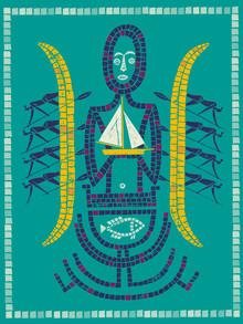 Tiki - fotokunst von Jean-Manuel Duvivier