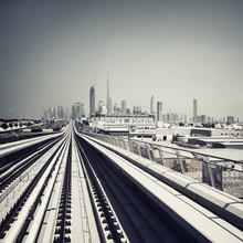 Ronny Ritschel, Dubai Skyline (Vereinigte Arabische Emirate, Asien)