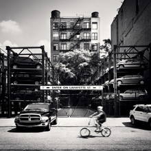 Enter on Lafayette - NYC - Fineart photography by Ronny Ritschel