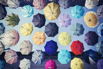 Umbrellas - Fineart photography by Ronny Ritschel