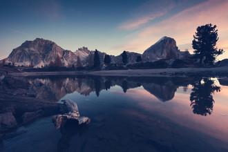 [:] LAGO LIMIDES BEFORE SUNRISE [:] - fotokunst von Franz Sussbauer