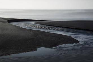 Gletscher-Delta, Island - fotokunst von Jens Rosbach