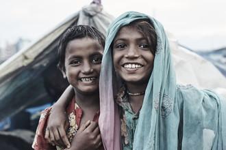 Jan Møller Hansen, Kathmandu girls (Nepal, Asien)