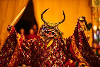 Jan Møller Hansen, Buddhist dance (Nepal, Asia)