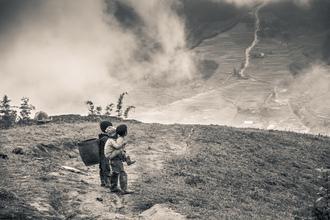 Arno Kohlem, zu dritt (Vietnam, Asien)