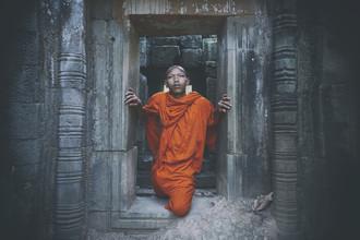 Jürgen Wolf, Ein Mönch (Kambodscha, Asien)