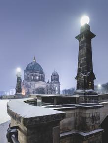 Ronny Behnert, Berliner Dom im Winter (Deutschland, Europa)