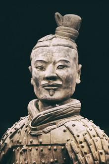 Jürgen Wolf, Nahaufname eines Terrakottasoldaten (China, Asien)