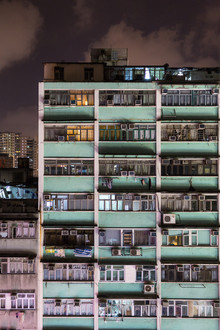 Hong Kong building - Fineart photography by Arno Simons