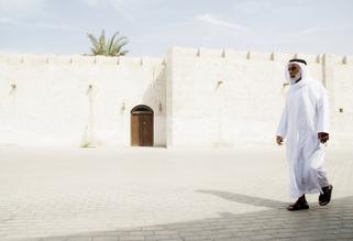 Daniel Schoenen, zum Freitagsbebet (Vereinigte Arabische Emirate, Asien)