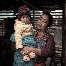 Barbara Flesch, Tante (Nepal, Asia)