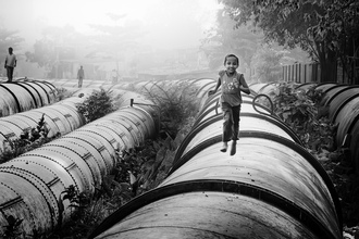 Pipeline of Life - Fineart photography by Rob van Kessel