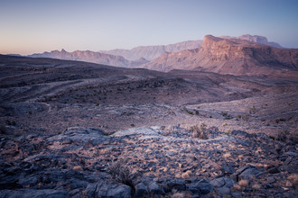 Beautiful morning in Jebel Shams region, Oman - fotokunst von Eva Stadler