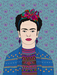 Frida Kahlo - Fineart photography by Bianca Green