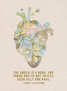 Bianca Green, A Traveller's Heart + Quote (Deutschland, Europa)