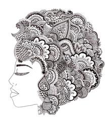 Her Hair - fotokunst von Bianca Green